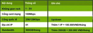 Thông số network hạt dẻ 3