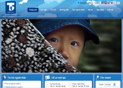 Trang thatlac.com.vn giúp mọi người trong và ngoài nước tìm người thân và bạn bè bị mất liên lạc của mình.